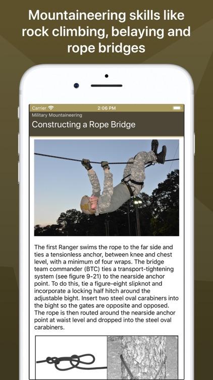 Army Ranger Handbook screenshot-6