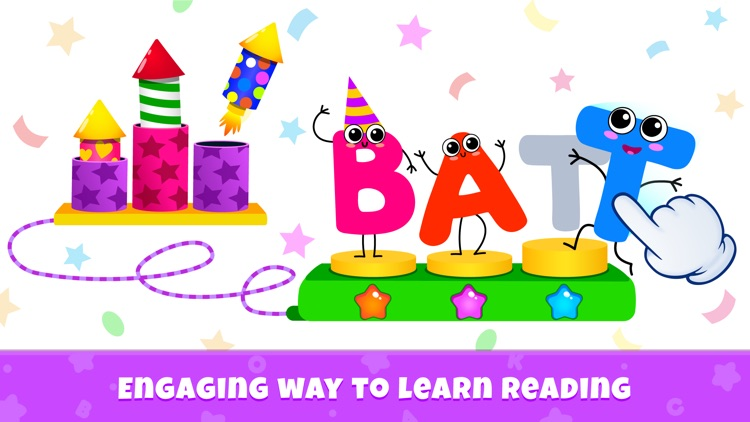 ABC Phonics Kids Reading Games screenshot-4