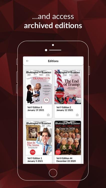 Washington Examiner Digital screenshot-4