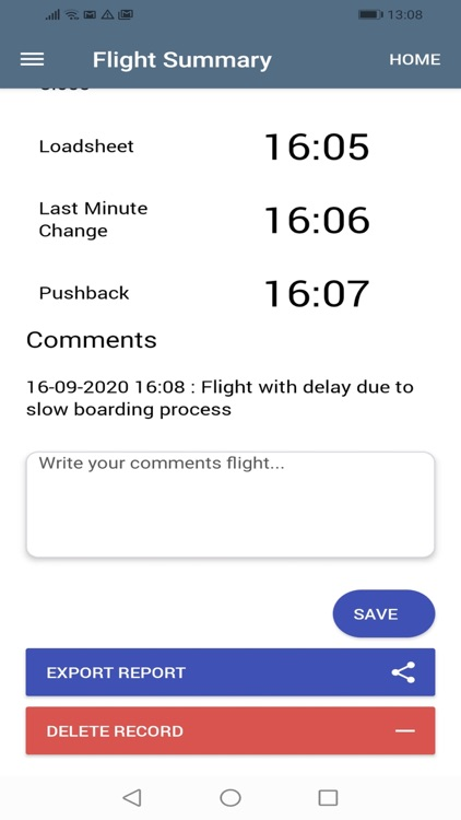 Captain Flight Report screenshot-4