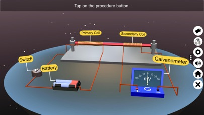 The Electromagnetic Induction Screenshot
