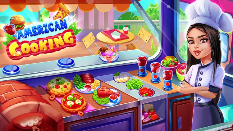 American Cooking Games kitchen