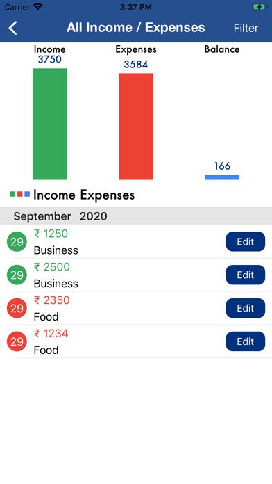 Spending Tracker Pro screenshot #4