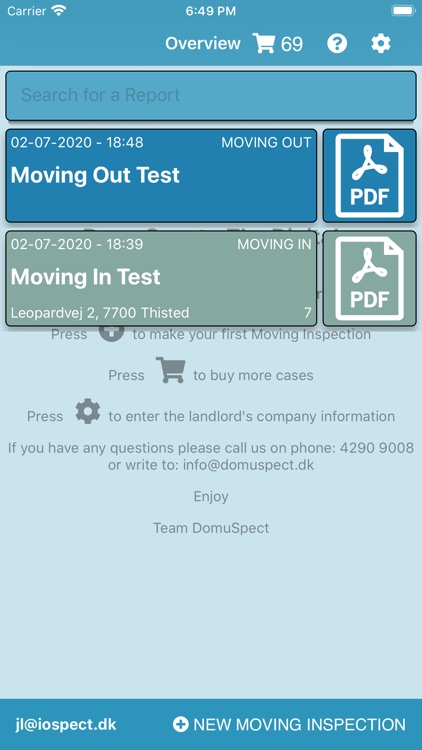 DomuSpect - for landlords screenshot-0