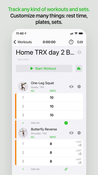Gymaholic Workout Trackerのおすすめ画像4