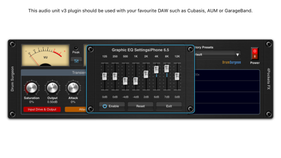 Drum Surgeon AUv3 Plugin screenshot 2