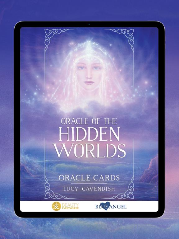 Ipad Screen Shot Oracle of the Hidden Worlds 0