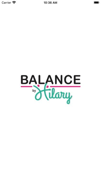 Balance By Hilary