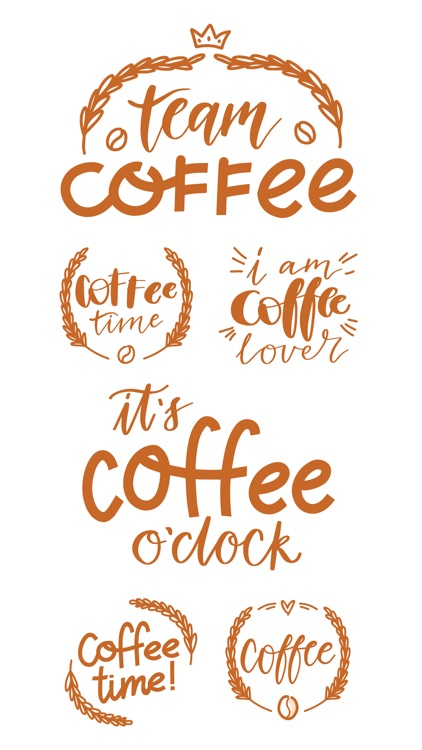Coffee time! Stickers screenshot-4