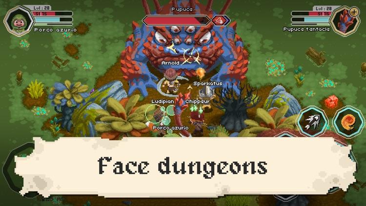 Naica Online - MMORPG 2D screenshot-3