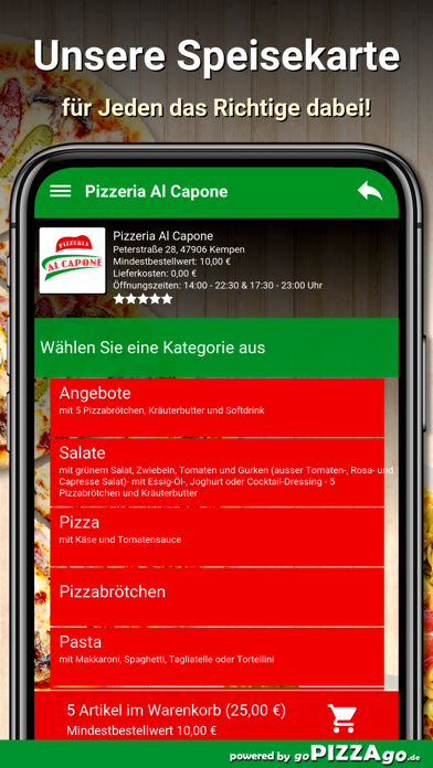 Pizzeria Al Capone Kempen screenshot 4