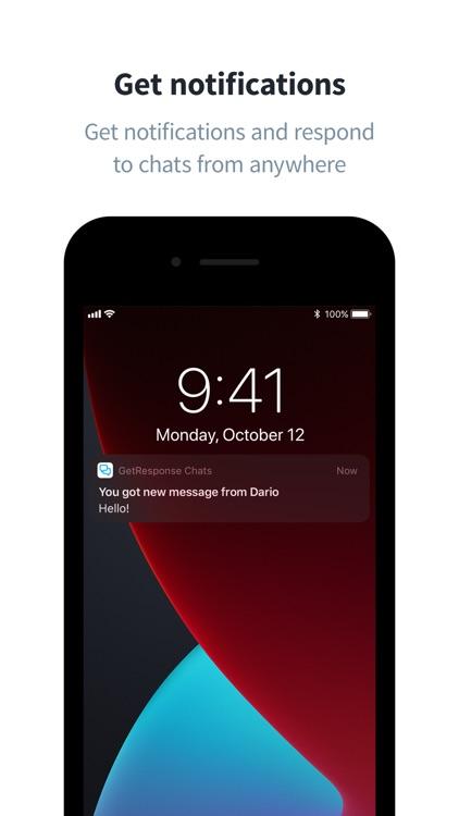 GetResponse Chats screenshot-3