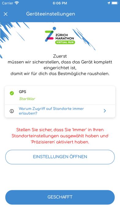 Zürich Marathon Virtual RunScreenshot von 3