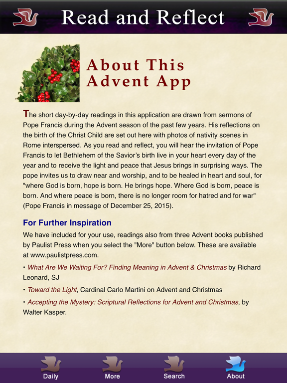 Ipad Screen Shot Advent with Pope Francis 2020 3