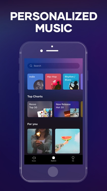 Resso - Music, Radios & Charts