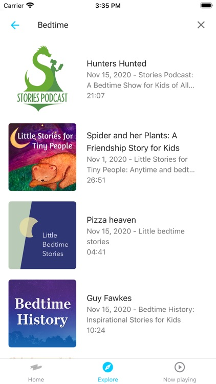 Kids Listen: Podcasts for kids screenshot-5