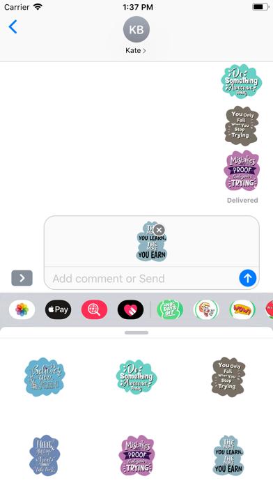 Monday Motivation Stickers screenshot 4