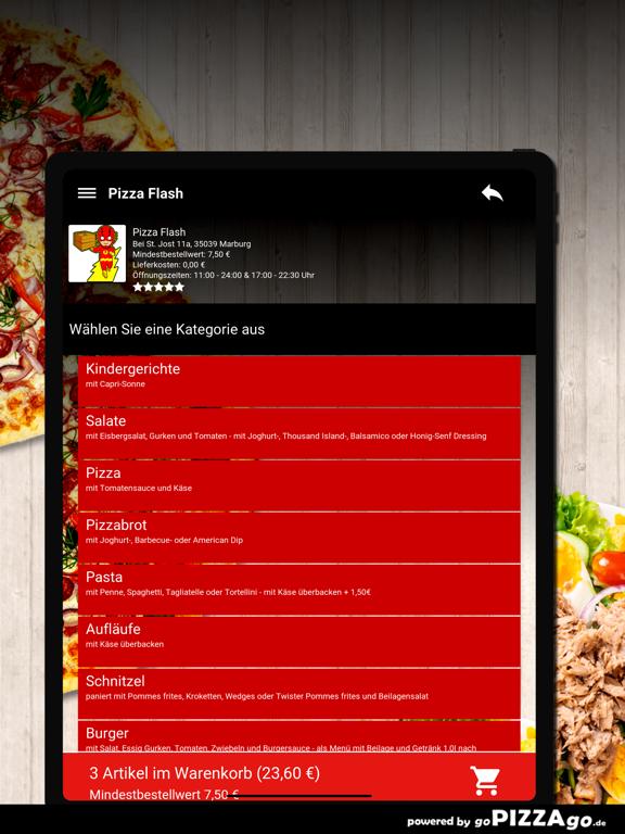 Pizza Flash Marburg screenshot 8