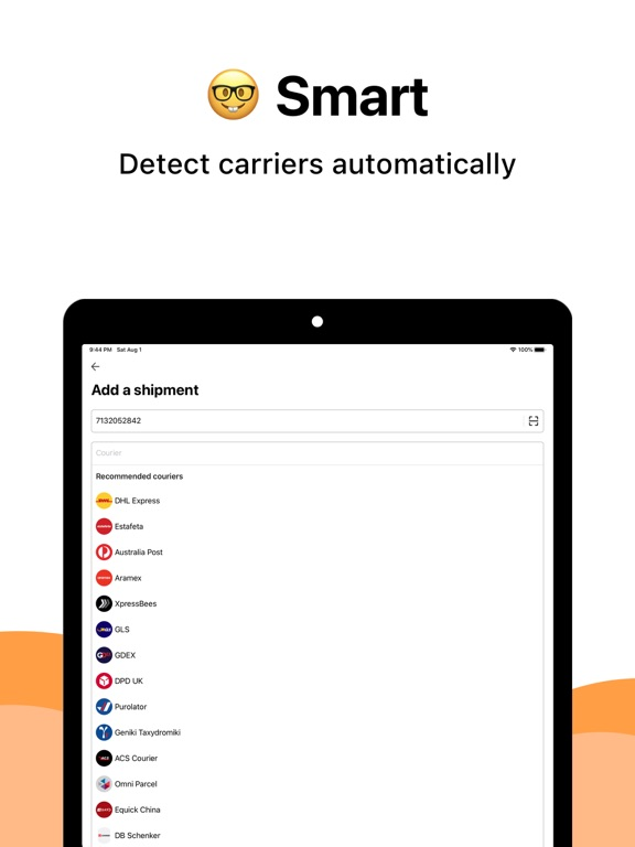 AfterShip Package Tracker screenshot