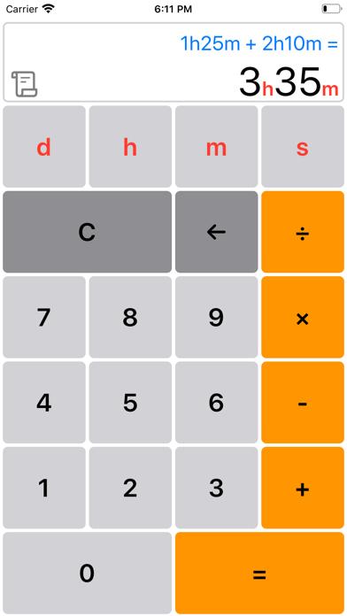 時間計算機 シンプルのおすすめ画像3