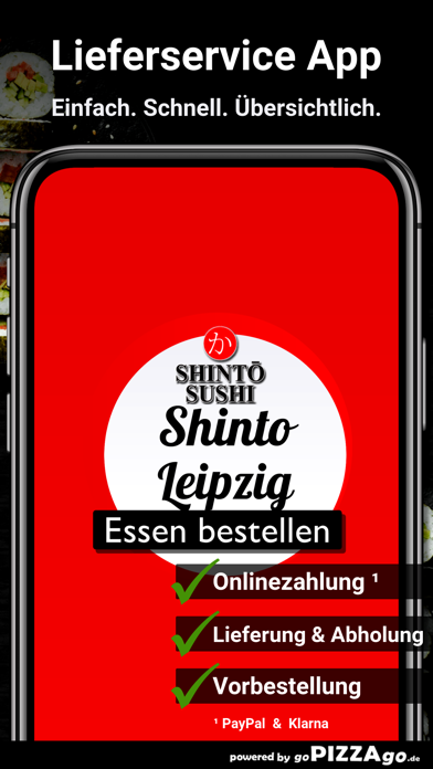 Shinto Sushi Leipzig screenshot 1