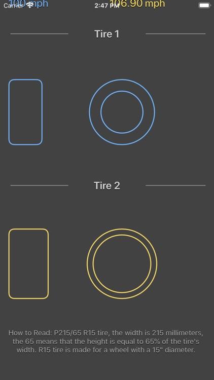 Tire Size Calculator Plus screenshot-8