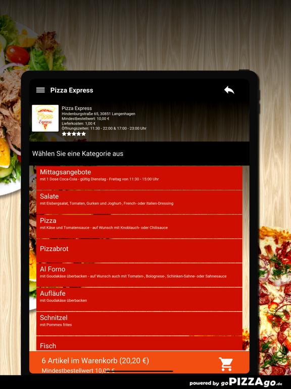 Pizza Express Langenhagen screenshot 8