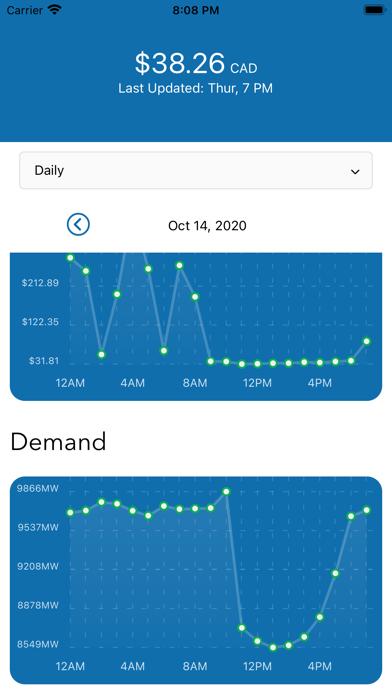Alberta Power Market Screenshot