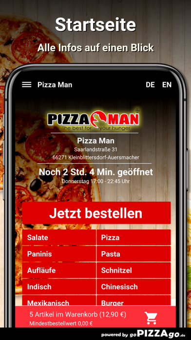 Pizza Man Kleinblittersdorf screenshot 2