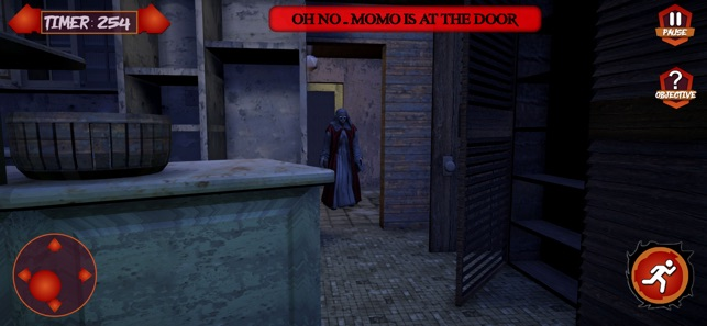 The Scary Momo's House