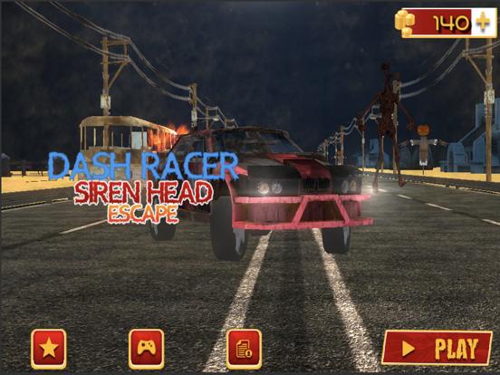 Dash Racer-Siren Head Escape screenshot 5
