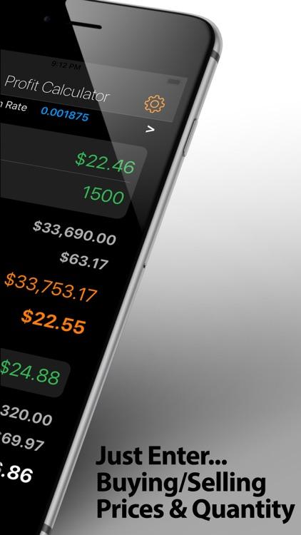 Stock Profit Calculator+