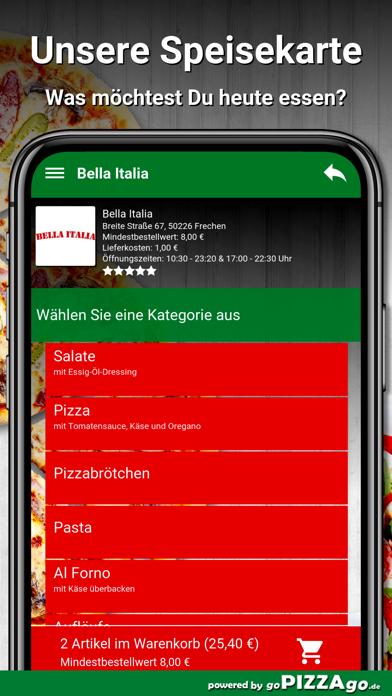 Bella Italia Frechen screenshot 4