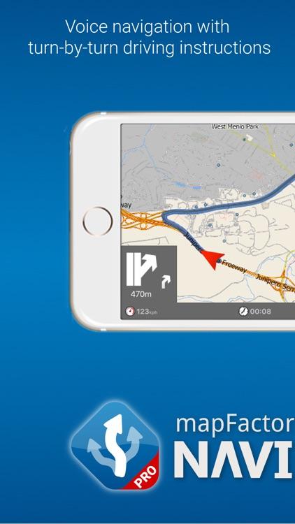 MapFactor Navigator Pro