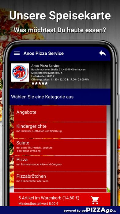 Anos Pizza Service Oberhausen screenshot 5