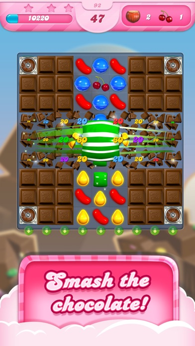Candy Crush Saga screenshot three