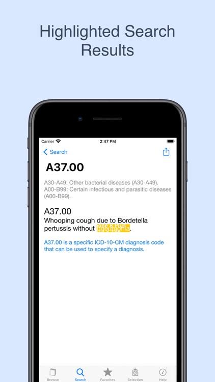 ICD-10 On the Go 2021 screenshot-3