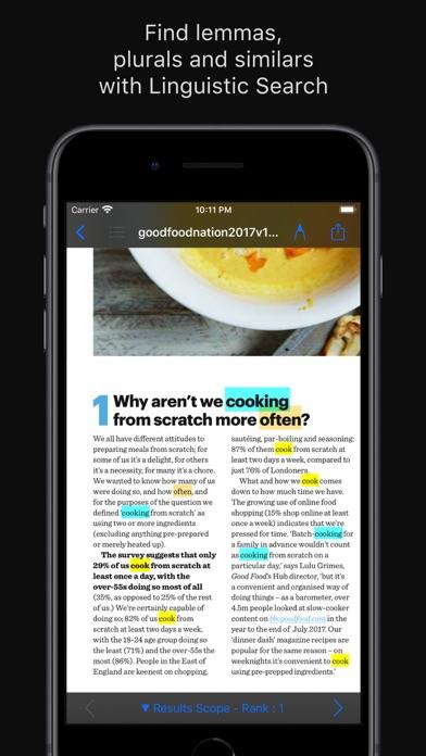 PDF Search PRO Screenshot