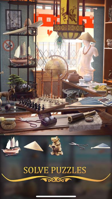 Hidden Objects - Puzzle Games på PC