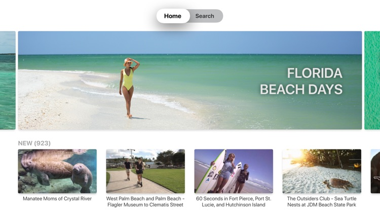 VISIT FLORIDA Couch Vacation