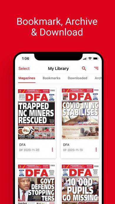 DFA NewsScreenshot of 4