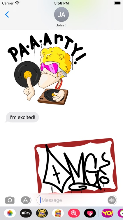 Ouchey's Sticker Pack