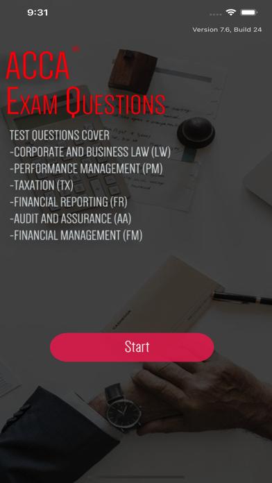 ACCA Exam Revision Prep screenshot 1