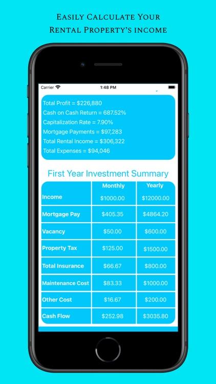 Rental Income Calculator