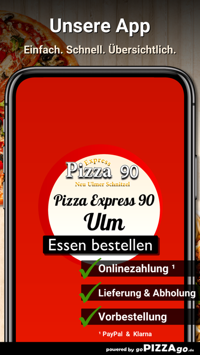 Pizza Express 90 Ulm screenshot 1