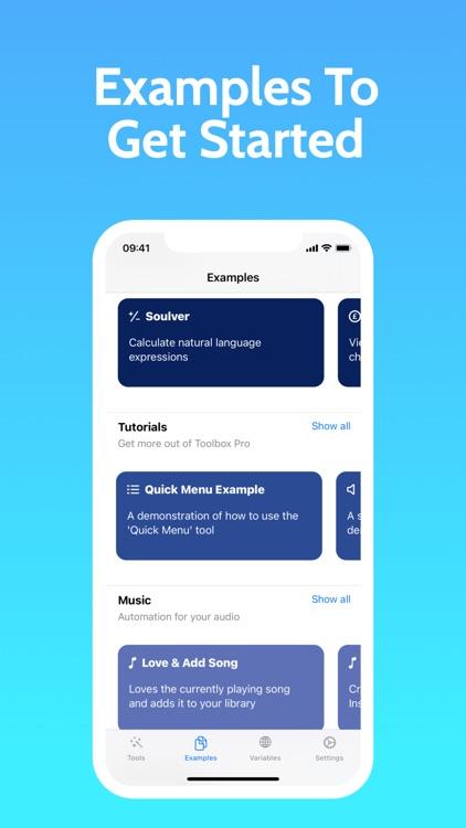 Toolbox Pro for Shortcuts screenshot-3