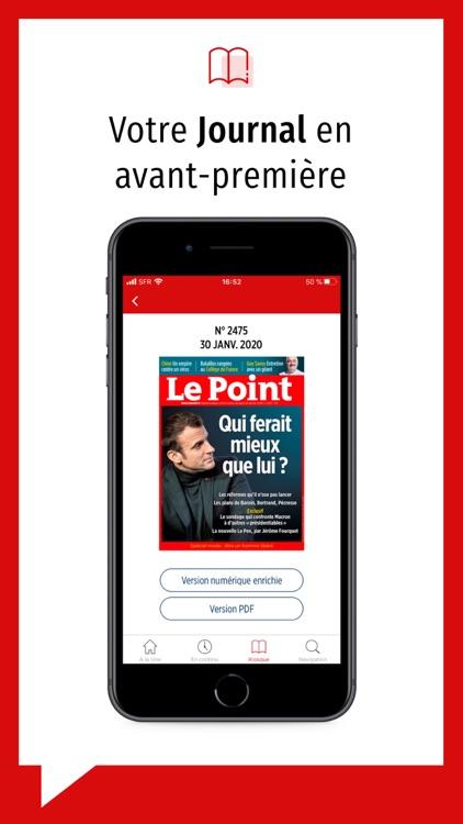 Le Point journal & actualités screenshot-4