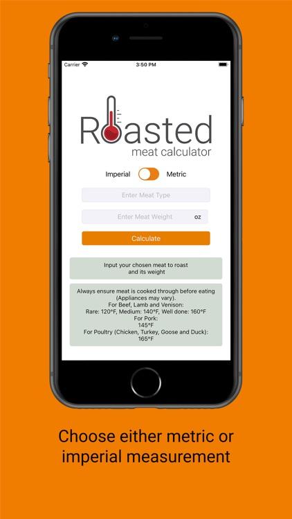 Roasted Meat Calculator screenshot-4