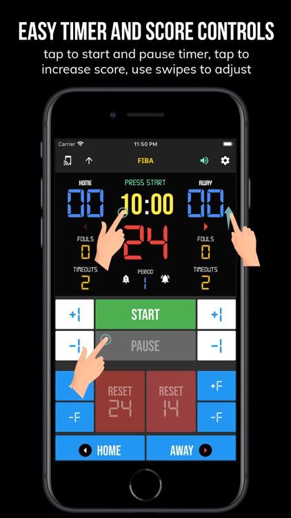 BT Assistant - Basketball screenshot-4