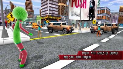 Amazing Rope Stickman Warriors screenshot 2